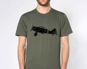KillerBeeMoto: Seversky P-35 Fighter Plane Short & Long Sleeve Shirt