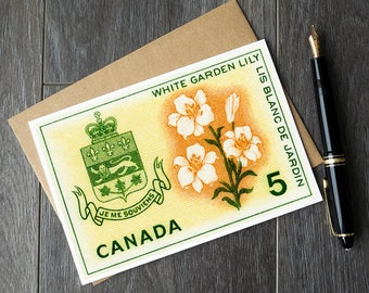 Quebec birthday, quebec christmas, quebec housewarming, quebec posters, quebec canada, province quebec, flowers quebec. quebec greeting card