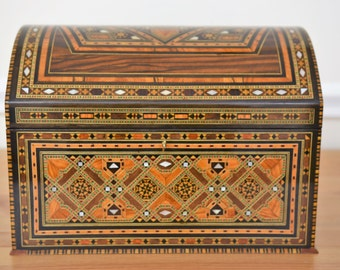 Inlaid jewelry box Etsy