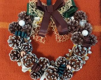 Decorative Garland Christmas Bear