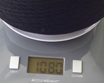 70% Merino Wool 30 Cashmere 2/26 Yarn Black
