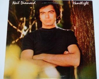 """Neil Diamond - Heartlight - Bacharach - Sager - """"Zuerst musst du Sie Liebe sagen mir"""" - Columbia Records 1982 - Jahrgang Vinyl LP Schallplatte"""