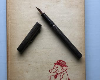 Platypus at Large, Emery Kelen, 1960, Hardcover, Charming Cartoons, Anthro Animals, Bertrand Russell