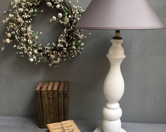 Patina to install, lamp vintage, shabby, cottage chic