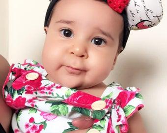 Snow White Baby Toddler Mickey Ears - Baby Toddler Kid Disney Ears