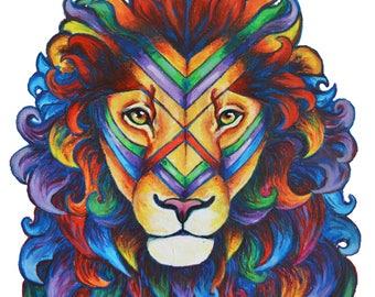 Mufassa in Technicolour