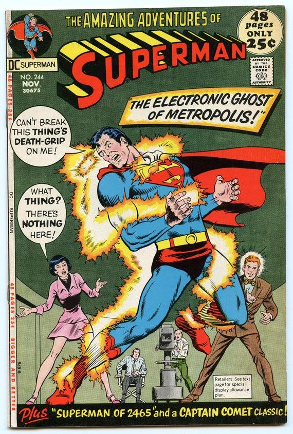 Superman 244 Nov 1971 FI+ (6.5)