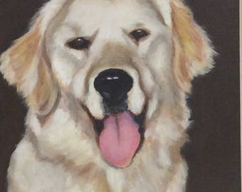 Custom Pet Portraits, Dog Portraits, Pet Painitings, Dog Art