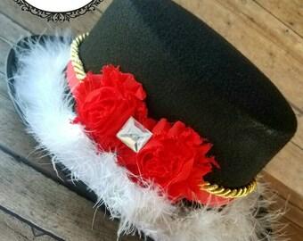Ringmaster Hat | premium hat | Top Hat| Circus Hat | Child-Adult listing