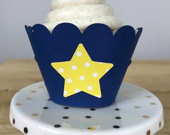 Circus Star Cupcake Wrapper Set of 12