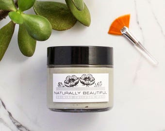Collagen + Blue Clay Face Mask - Face Mask - Natural Skincare - Cambrian Clay