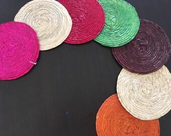Super Sale / Palm Coaster- Portavaso de palma - mexican party