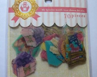 Japan Mind Wave GIRLY 70 pcs stickers sack
