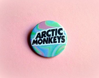 Artic monkeys - pinback button or magnet 1.5 Inch