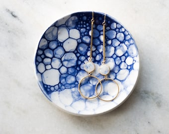 Cobalt Hand-painted Porcelain Small Dish