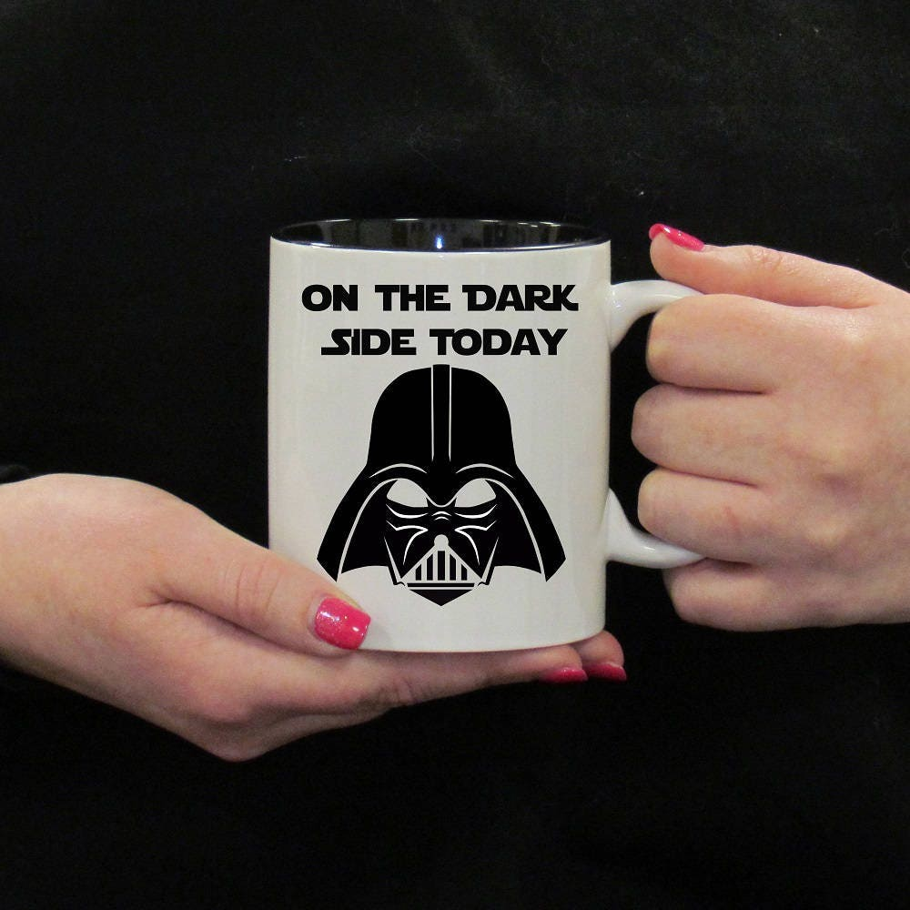 On The Dark Side Mug-Star Wars-Design-Darth Vader Mug-Star