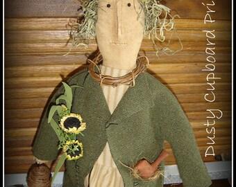Prim Garden Spring Doll Make-do epattern
