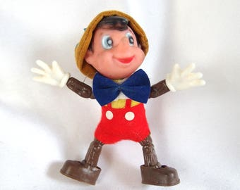 Pinocchio Christmas Ornament, Plastic Hong Kong Ornament