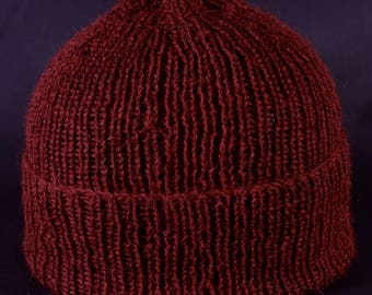 Hand Knitted,Pure Alpaca, Hygge? Cashmere softness, winter beanie