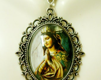 Our lady of Guadalupe necklace - AP09-265