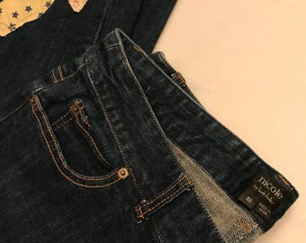 Nicole blue jeans upcycled