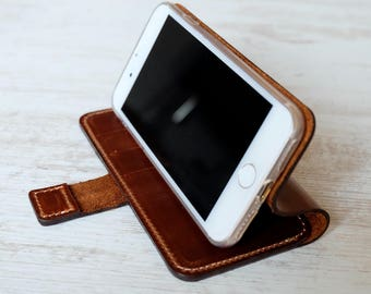 iphone 7 leather case with magnetic closure, for iPhone 8, for iPhone 8 Plus, for iPhone 7 Plus, for iPhone 6s, for iPhone 6s Plus