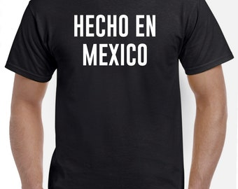 Hecho En Mexico Mexican Native Shirt