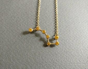 Big dipper. Necklace.