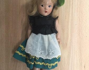 1935 Swiss Madame Alexander vintage doll