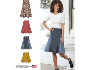 Simplicity Pattern  8220 Misses' Skirt in Three Lengths