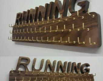Wooden Running Medal Holder, gymnastics medal holder, irish dancing medal holder, boxing, football, basketball, Martial Arts Medal Holder