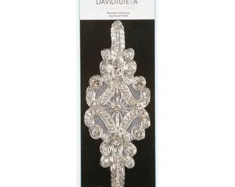 David Tutera - Pearl and Bead Flower Applique