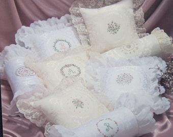 Damask Designs Cross Stitch Pillow Pattern by Pat Waters