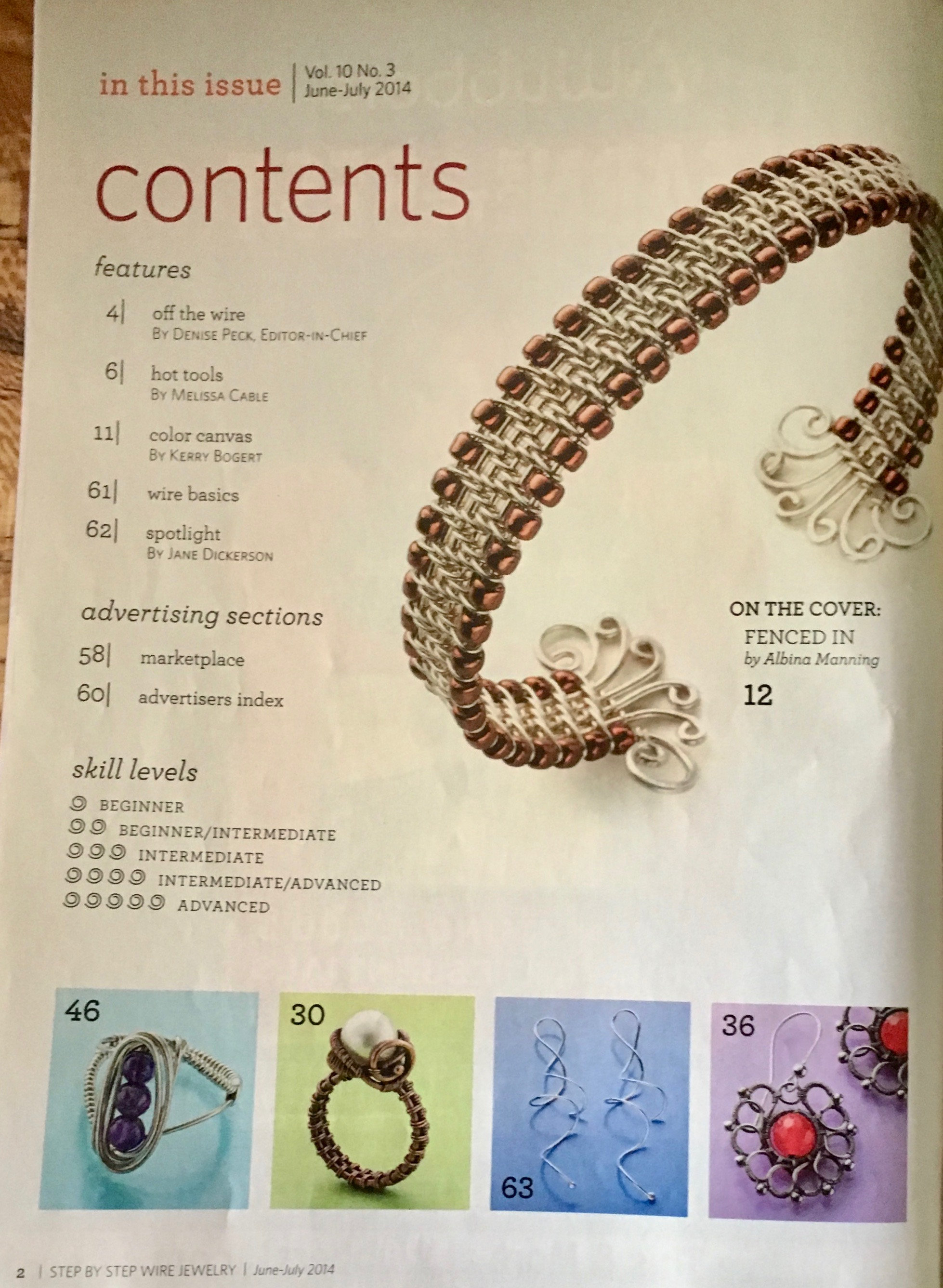 Step by Step Wire Magazine Annual Tool Issue Weaving Made Easy ...