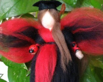 DEGREE fairy carded wool or wedding favor gift ideas