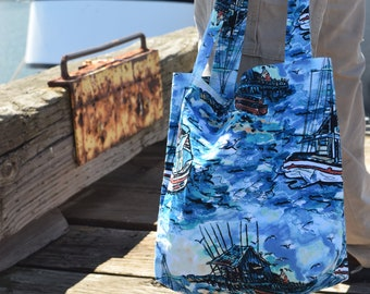 Tugboat Market Bag