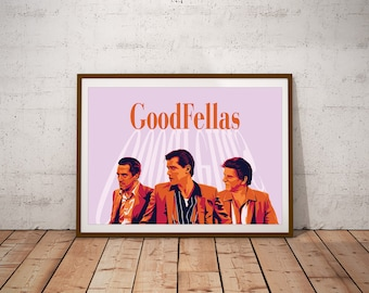 GoodFellas illustrated Print