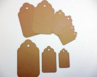 Tags Set of 3 Craft Card Stock Paper Sizzix