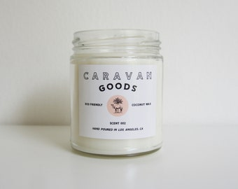 SCENT 002: MOJAVE //  Coconut Wax Candle // Organic // Eco Friendly // 8oz