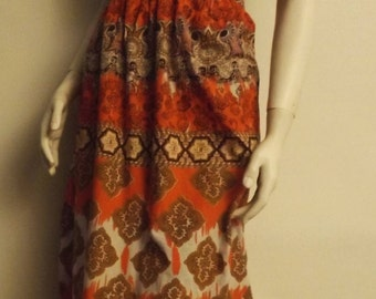 Vintage Ceremonial Hippie Dress from the 70's