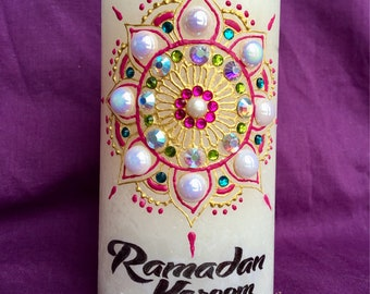 Ramadan kareem decorative candle