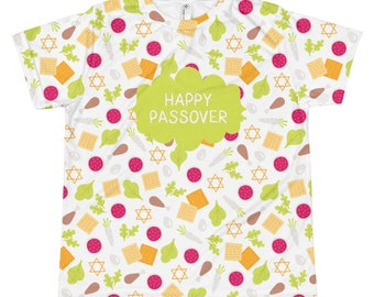 Children's Passover Shirt, Pesach Present, Jewish Holiday, Kid's Passover