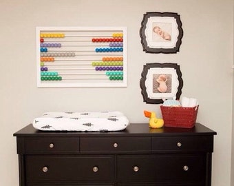 Wonderful Playroom Decor, Playroom Wall Decor, Abacus, Playroom Wall Art, Kids Playroom  Decor