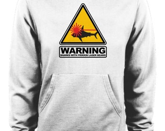 Austin Powers Dr Evil Sharks with Frikkin Laser Beams Movie Hoodie