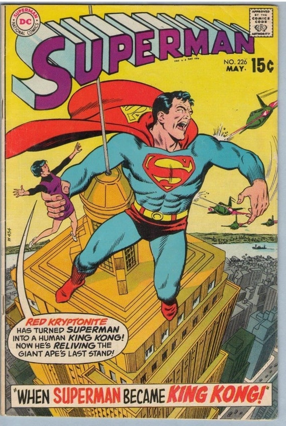 Superman 226 May 1970 VG (4.0)