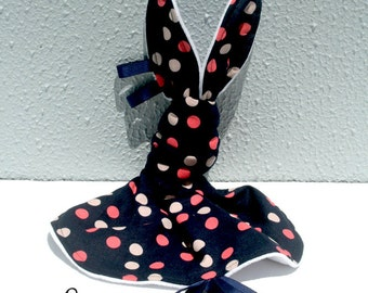 Bunny Love Taggy - Navy/Pink