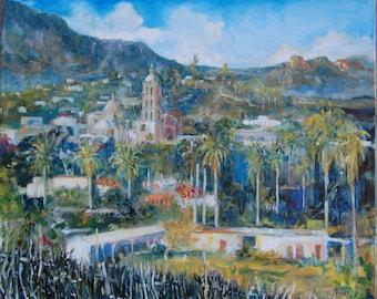Alamos, Sonora Impressionist style