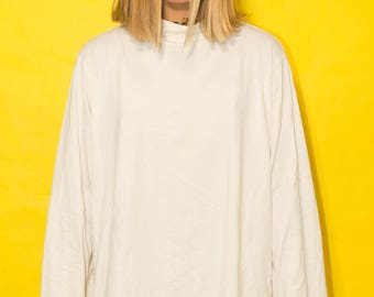 Simple Not So Simple  Oversized Turtle-neck Dress