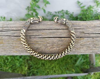 Viking bracelet, Ragnar Lothbrok, Viking Jewelry, viking bracelet,ragnar bracelet,torc bracelet,celtic bracelet,viking armband,bracelet torc