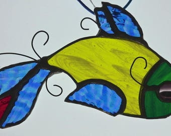 Fancy Fish Stained Glass